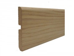 PLINTHE MDF REVETU DECOR CHENE NATUREL 2400X70X9MM